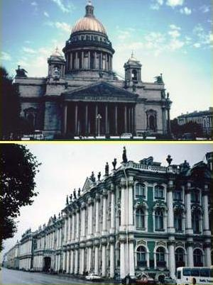 St Isaac's Cathedral; the Hermitage Museum